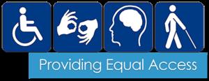 Providing Equal Access graphic